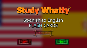 Study Whatty: Spanish to English (Picture 1)